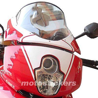 DUCATI MULTISTRADA - Tabella adesiva anteriore pikes peak - stickers front table