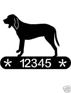 DACHSHUND ADDRESS SIGN DOG MEMORIAL HOME DECOR PET K9