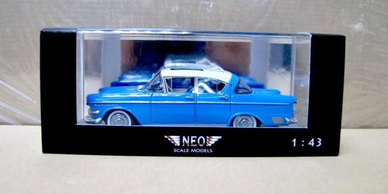 NEO Resin Model 1/43 Opel Kapitan 2.5L