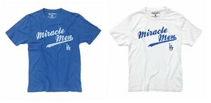 New-MLB-Los-Angeles-Dodgers-1988-Miracle-Men-Topps-T-SHIRT