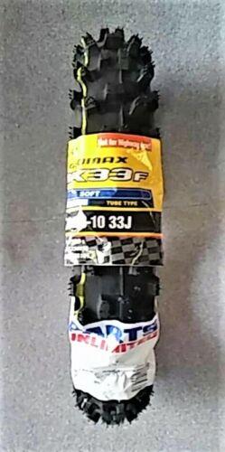 DUNLOP MX33 60//100-10 FRONT GEOMAX MINI OFF-ROAD TIRE YAMAHA R50 50cc 1981-2018