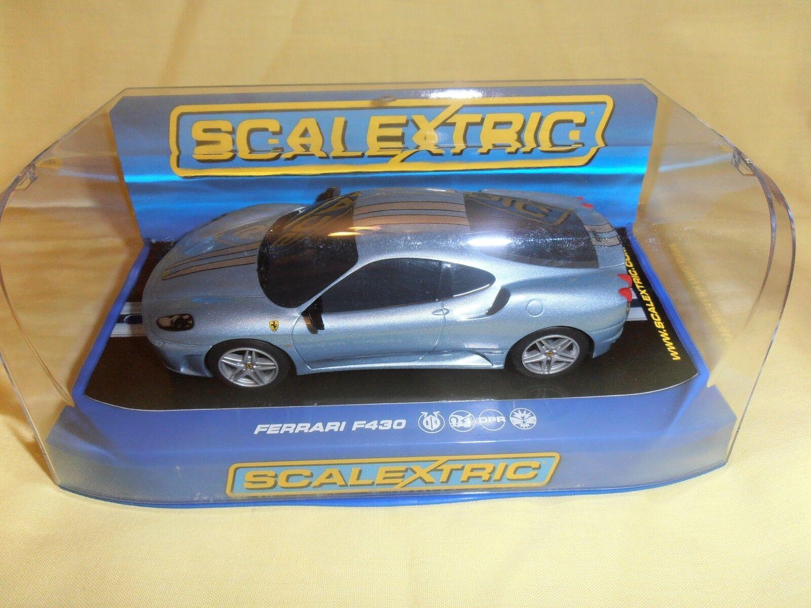 SCALEXTRIC C3067 Ferrari F430 Azzurro Met. new ninco pioneer scx