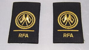 GENUINE-NEW-ROYAL-NAVY-RFA-RANK-SLIDES-BADGE-Royal-Fleet-Auxiliary-Epaulettes