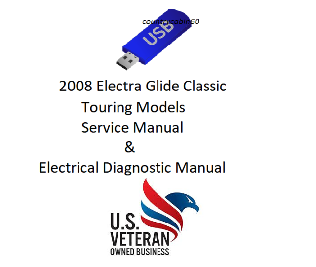 Service Manual For 2008 Harley Electra Glide Classic Flhtc