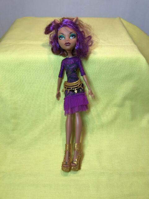 Monster High Clawdeen Wolf Doll Frights Camera Action