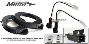 """Metra 82-3005 6"""" - 6.75"""" Speaker Adapter Install Parts Harness For GM Vehicles"""