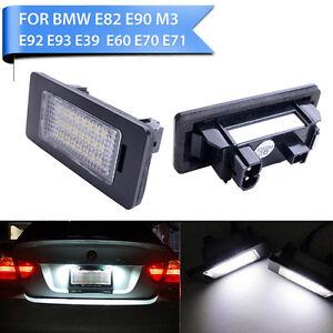 2x-24-LED-License-Plate-Number-Lights-For-BMW-E90-M3-E92-E70-E39-F30-E60-E61-E93