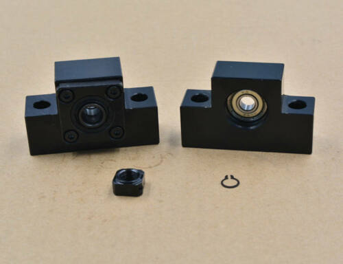 EK//EF High Precision Bearing Ball Screw Mounts End Support CNC Bracket fixed end