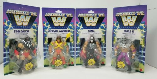 WWE Masters of the Universe Sting Balor Triple H Masters of the Universe Set Figure HE-MAN