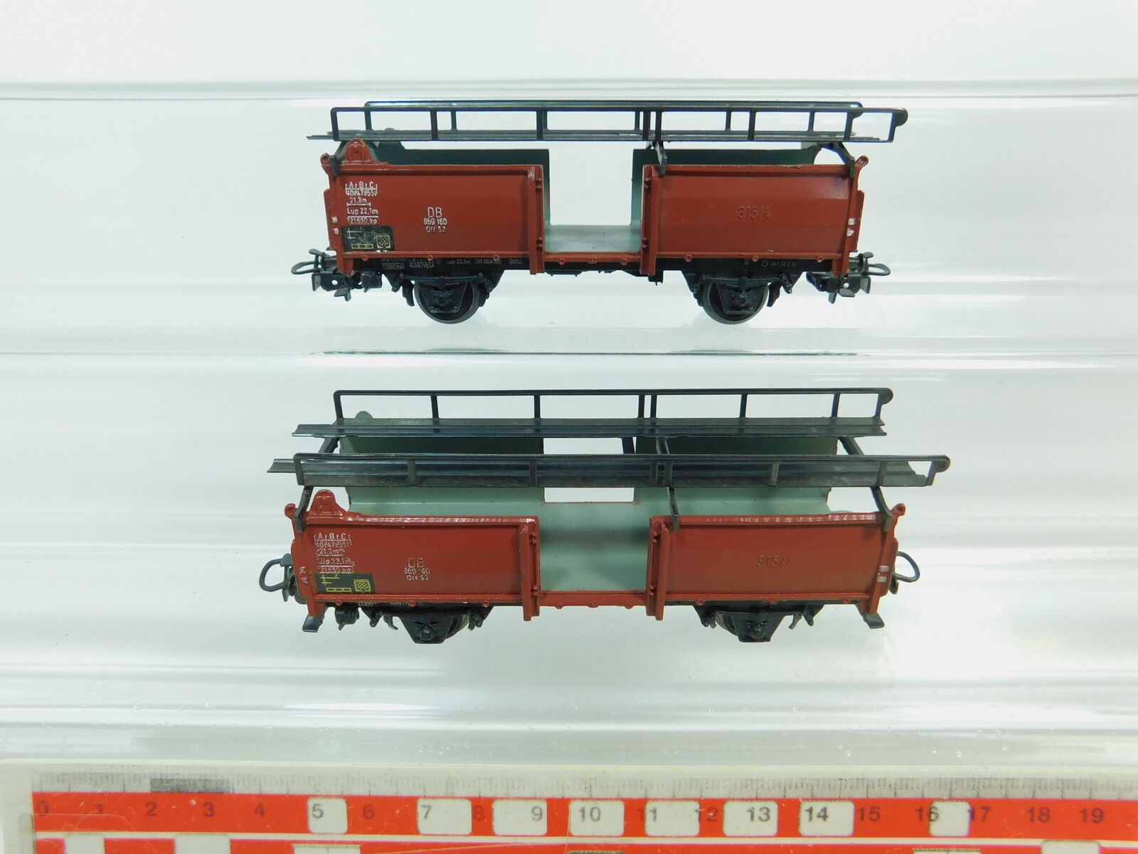Bp690-0, 5 x Märklin h0 ac 4612 Wagon for carriage of cars downloaded