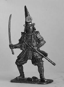 tin 54mm SA15 Kato Kiyomasa 1590 yr Japan