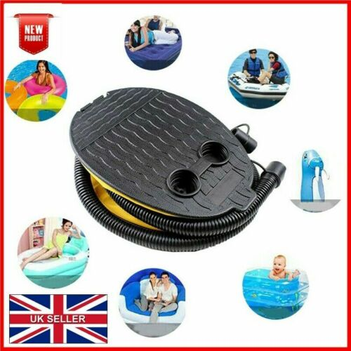 5 LITRE BELLOW FOOT PUMP SWIMMING POOL INFLATABLE TOY AIR BED FURNITURE BOAT