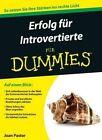 Starker Auftritt fur Introvertierte fur Dummies by Joan Pastor (Paperback, 2014)