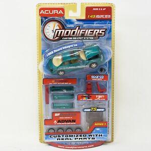 Modifiers-Series-7-1993-Acura-Integra-LS-Green-1-43-Scale-RARE