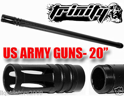 "TIPPMANN 98PAINTBALL GUN BARREL, SNIPER 20"" BARREL FOR CUSTOM 98, 98 CUSTOM GUN"