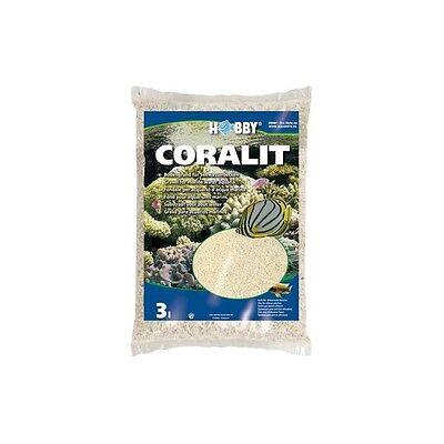 sable de corail coralit hobby 1.6kg aquarium crevettes eau de mer cichlides