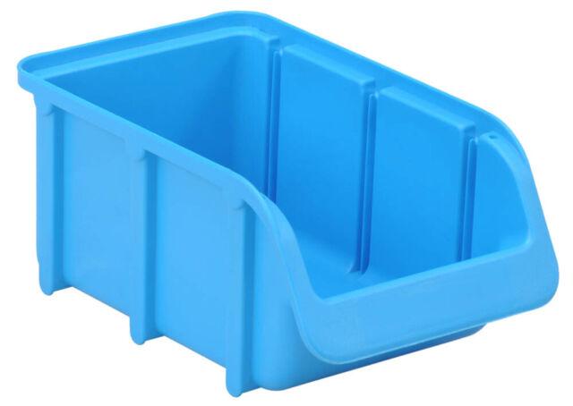 Profi Sichtbox PP Größe 2 transparent 165x100x75 mm Sichtlagerbox Stapelbox Pro