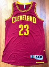 LeBron James 2016 17 Game Style Cavaliers Jersey w/Mic Pouch Worn/Used