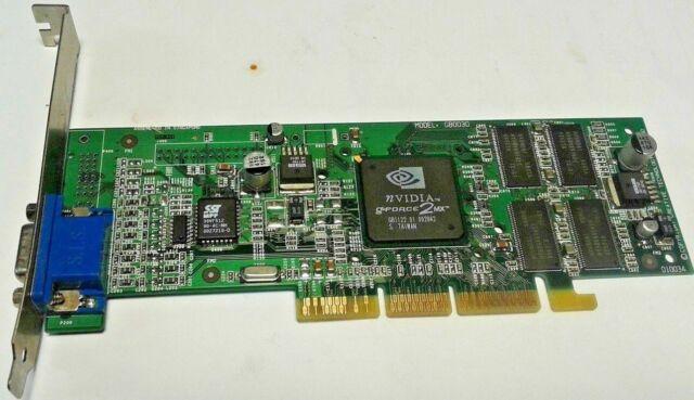 NVIDIA GeForce2 MX  AGP Video Card 32MB VGA Output GB0030