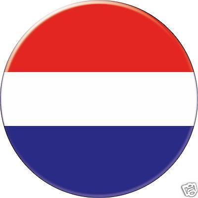 Holland Badge  F004 Dutch Self Adhesive Netherland  Metal Badge Enamel