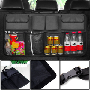 Multifunction Mesh Pocket Hanging Boot Car BACK Seat Tidy Storage Organiser CO