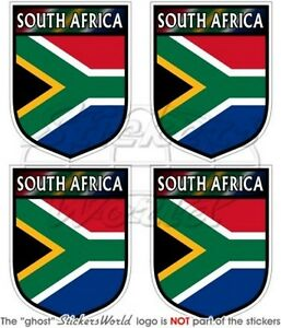 "2/"" SOUTH AFRICA former S.African Born /& Proud 50mm Bumper Stickers Decals x4"