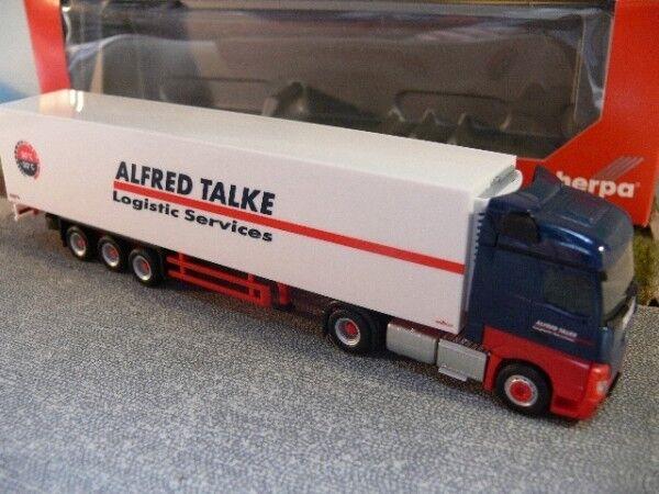 1 87 Herpa MB Actros Actros Actros Streamspace Alfred Talke Kühlkoffer-SZ 306898 93f7a6