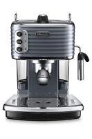 Delonghi Ecz351gy Scultura Pump Coffee Machine: Steel Grey