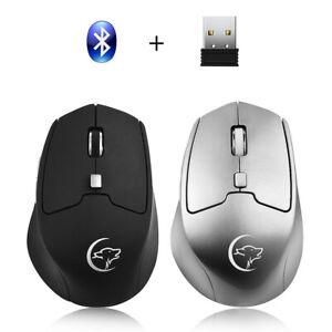 Maus-Mouse-Maeuse-Mice-4800DPI-Bluetooth-USB-Programmierbar-Wireles-Wire-Optisch