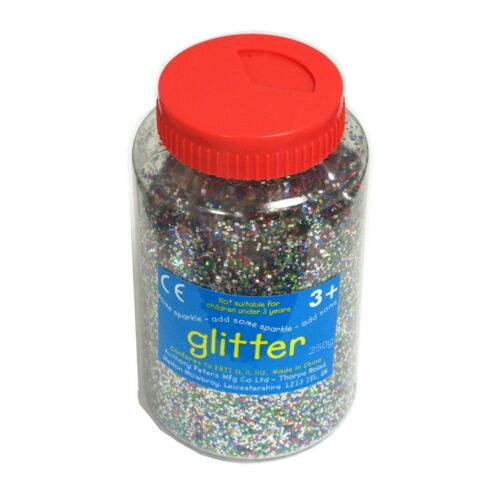 Glitter Shaker Choose Colour and size 100g 250g 400g     Art Craft  Decorate