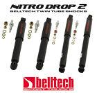 "Pair 5/"" Drop 02-06 Dodge Ram 2WD Nitro Drop 2 Rear Shocks 3/"""