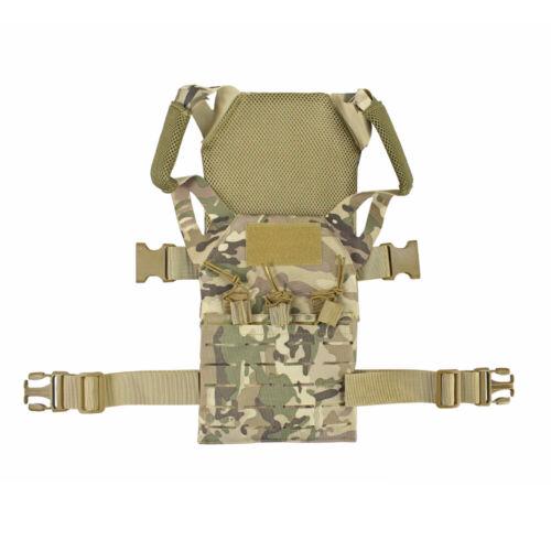 Tactical Gear Outdoor Kids Children Mini Molle Jump Plate Carrier JPC Vest