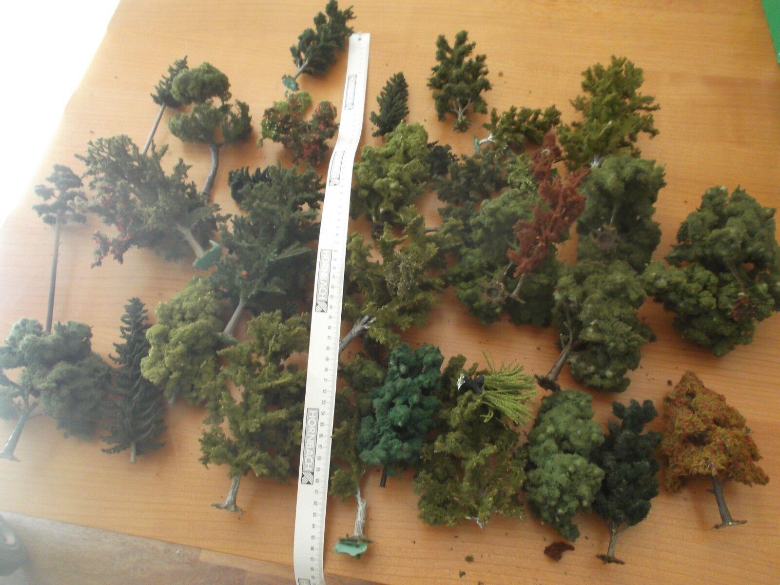 45 x Heki Noch und andere Bäume Spur 1 Spur 0 Gartenbahn 5 - 16 cm Höhe