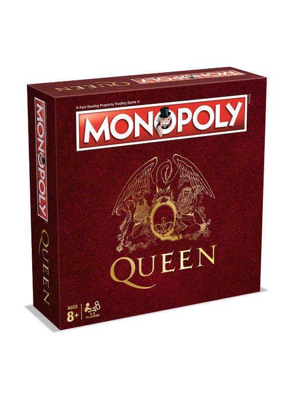 Queen Edition Monopoly Board Game Brand New