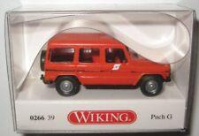 """Wiking H0 1//87 H0 026639 PKW Puch Geländewagen G /""""ÖBB/"""" orange mit Pflatsch NE"""