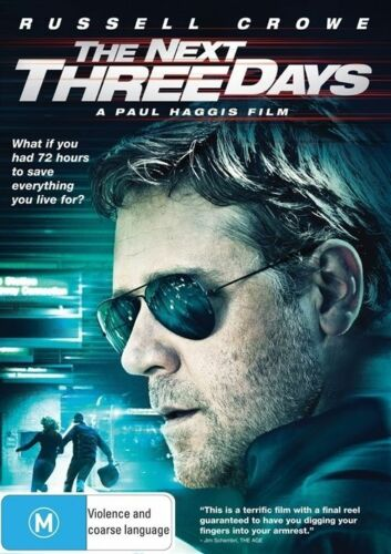 1 of 1 - The Next Three Days (DVD, 2011) New/Sealed