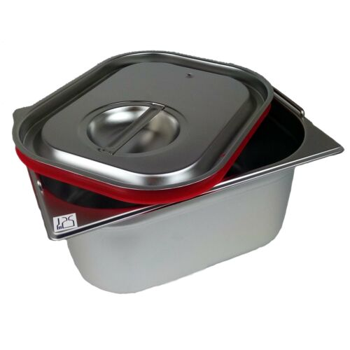 GN 1//1 Deckel Gastronormbehälter Silikon Abdeckung GN-Behälter Catering-Buffet