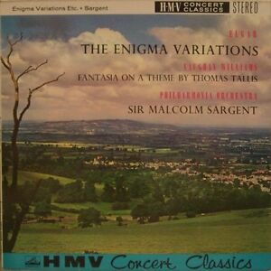 Sir Malcolm Sargent  Philharmonia Orchestra  Elgar  Enigma Variations Etc - <span itemprop='availableAtOrFrom'>Bristol, Bristol, United Kingdom</span> - Sir Malcolm Sargent  Philharmonia Orchestra  Elgar  Enigma Variations Etc - Bristol, Bristol, United Kingdom