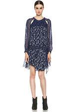 NWOT Isabel Marant Etoile Prewitt Dress SZ 36 $535 Printed BLUE Floral