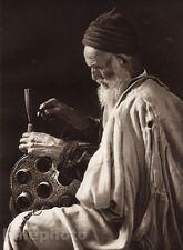 1924 Vintage COPPERSMITH Tunisia Jewish Metal Craft Phot Art LEHNERT & LANDROCK