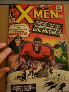 Xmen-4-Cover-with-1990-039-s-Reprint-Cyclops-Professor-X-Magneto