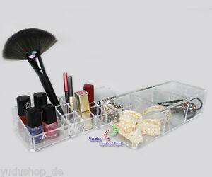 Acryl Kosmetik Aufbewahrungsb<wbr/>ox Ordnung Box Sortierkasten Fächern Nr:1181