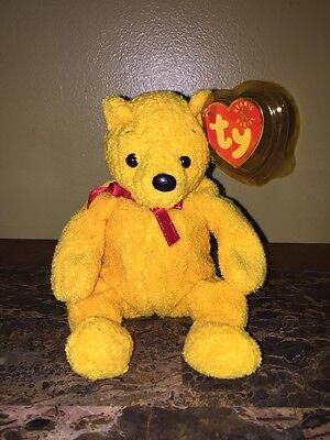 PE Pellets Mint w// Tag 2001 Ty Beanie Babies Poopsie the Bear