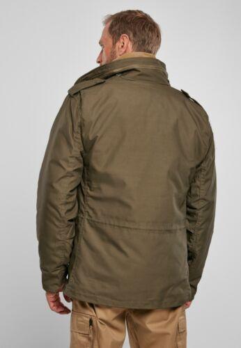 Brandit Jacket Parka Man Winter Military M-65 Classic Olive