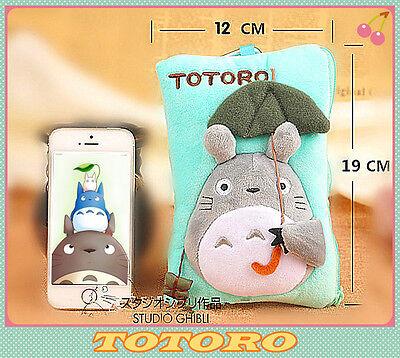 Totoro  Iphone 6 Plus Case Storage Bag  Cosmetic Bag Pencil Case 3D Plush Bag