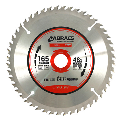 Abracs TCT Circular Wood Saw Blades 165mm 184mm 190mm 216mm 235mm TCT Blade