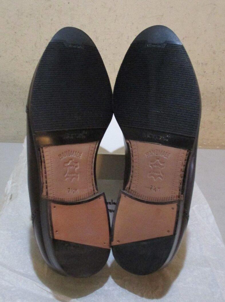 New Prvt. Label: by Mezlan #8016 7.5 M brown (6398) Scarpe classiche da uomo