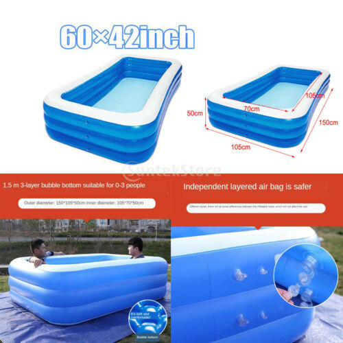 Summer Inflated Swimming Pool Paddling Pools for Kids Home Toy Outdoor