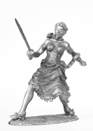 figure Collection tin soldier Madame duel 54 mm