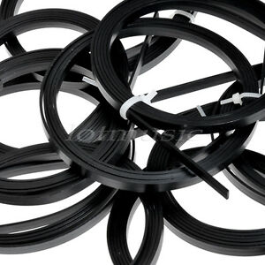 2-Pcs-ABS-Guitar-Bindings-Purfling-Strips-1650-x-6-x-1-5MM-Black